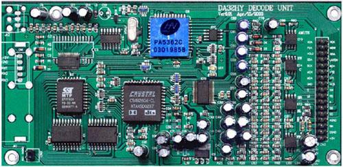 供应信息 深圳市龙珠科技有限公司 带通讯的ac-3解码板  带通讯的dts